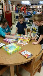 Board Games at Eastford Elementary School
